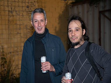 Esteban Álvarez y Pablo Rosales