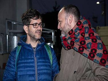 Santiago García Navarro y Matías Feldman