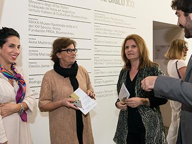 Anna Mattirolo, Margherita Guccione, Nahuel Ortiz Vidal