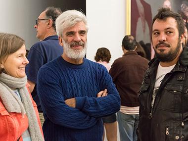 Mónica Giron, Santiago Bengolea, Ezequiel Verona