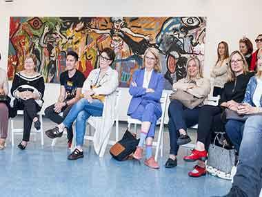 Alejandra Nícoli, Cecilia Duahu, Marina Pellegrini y Lauren Bate