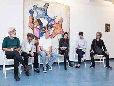 Santiago Bengolea, Renato Rita, Rafael Bueno, Daniela Lucena, Gisella Laboureau