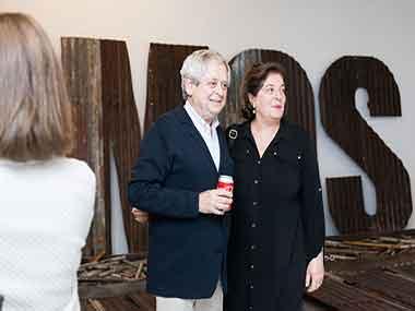 Hugo Petruschansky y Adriana Rosenberg
