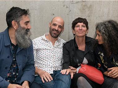 Daniel Giannone, Miguel Rothschild, Ana Gallardo, Celina Jure