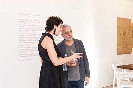 Bárbara Echevarría y Raúl Flores
