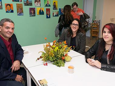 Adrián Garry, Elizabeth Torres, Pilar Moreno Torres