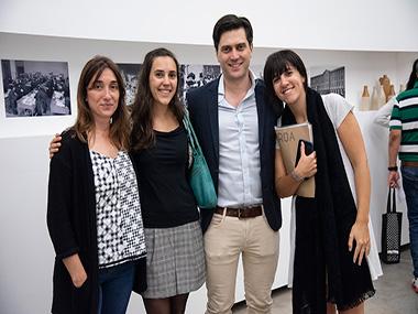 Ana Schwartzman, Larisa Mantovani, Agustín Diez Fischer, Cecilia Jaime