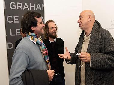 Pablo Zaefferer, Guillermo Goldschmidt, Jorge Pastorino