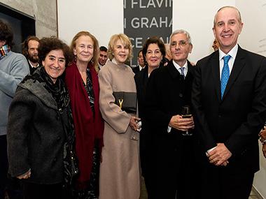 Orly Benzacar, María Victoria Cordero, Magdalena Cordero, Adriana Rosenberg, Esteban Tedesco, Sergio Baur