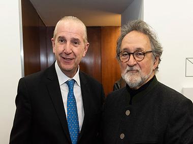 Sergio Baur, Américo Castilla