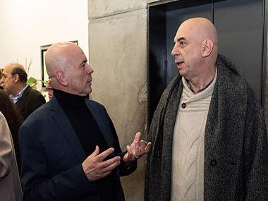 Jorge Telerman y Jorge Pastorino