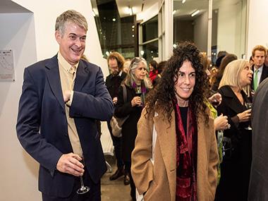Dan Cameron y Cynthia Cohen