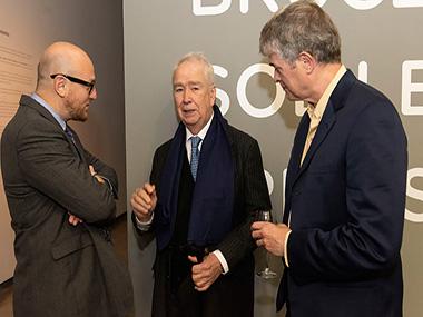 Arturo Galansino, Carlos Franck y Dan Cameron