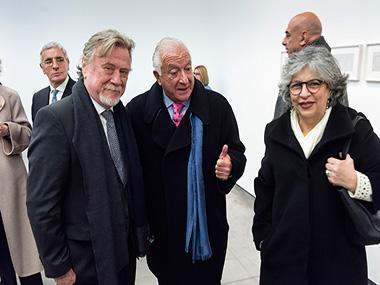 Ricardo Kirschbaum, Norberto Frigerio, Silvia Frahe