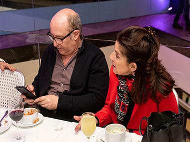 Martín Bauer y María Casado