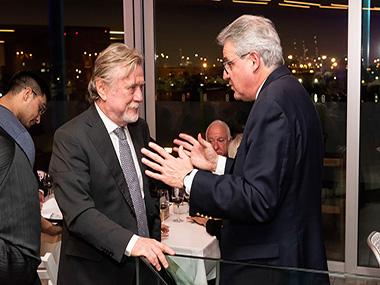 Ricardo Kirschbaum y Juan José Cruces