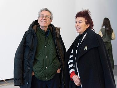 Horacio Zabala y señora