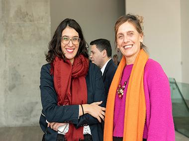 Fernanda Martell y María Laura Monti