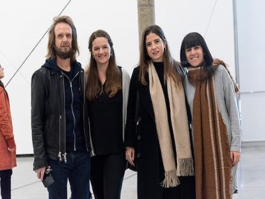 Guillermo Goldschmidt, Katharine Wright, Manuela Otero, Cecilia Jaime
