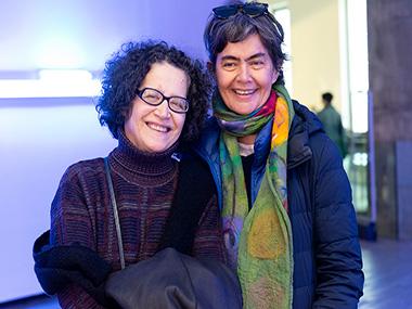Victoria Verlichak y María Eugenia Estenssoro
