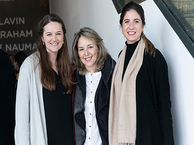 Katharine Wright, Cintia Mezza y Manuela Otero