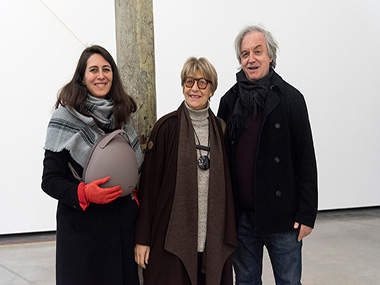 Gabriel Werthein y señora, Ana María Battistozzi
