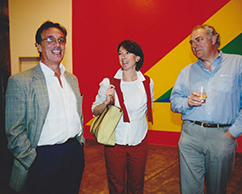 Germán Carvajal, Magda Macaya, Sr Macaya