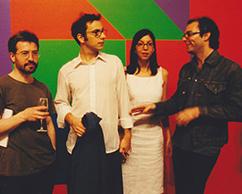 Claudio Golonbek, Andres Denegri, Melisa Cámera, Fernando Bruno