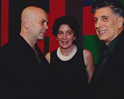 Jorge Telerman, Adriana Rosenberg, Claudio Segovia