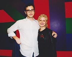 Andrés Denegri, Patricia Rizzo