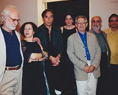 Cesar Paternosto, Mini Zuccheri, Arturo Carvajal, Adriana Rosenberg, Hugo Petruschansky, Alejandro Puente