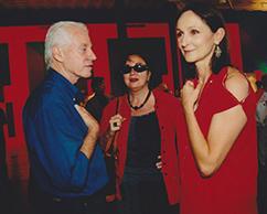 Nicolás García Uriburu, Diana Saiegh, Teresa Anchorena