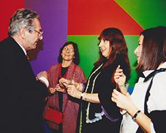 Sergio Einaudi, Irene Joselevich, equipo Sol LeWitt Foundation