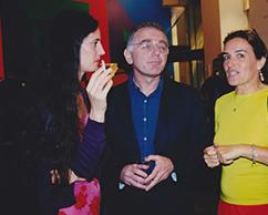 Giuseppe Carusso, Elena Bonatti