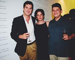 Francesco Genuardi, Adriana Rosenberg, Sergio Avello