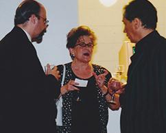 Rosa María Ravera y Arturo Carvajal