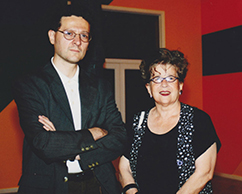 Fabián Lebenglik, Rosa María Ravera