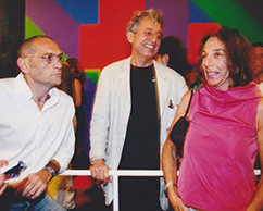 Ernesto Korovsky, Juan José Cambre, Andrea Hirsch