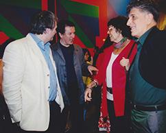 Patricio Lóizaga, Fernando Ezpeleta, Josefina Robirosa,Claudio Segovia