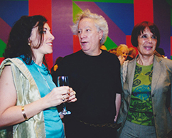 Rogelio Polesello y amigas