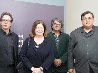 Ferrá;n Barenblit, Adriana Rosenberg, Shuddhabrata Sengupta, Cuauhtémoc Medina