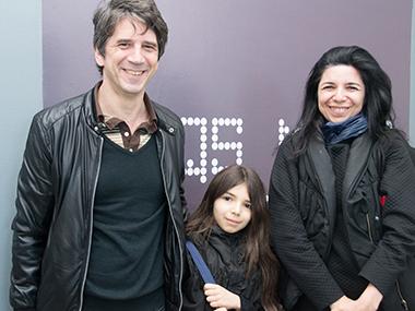 Pablo Lapadula y familia