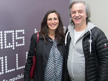 Paula Toto Blake y Gabriel Werthein