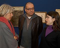 Ana Maria Battistozzi, Ramiro Martínez y Cecilia Rabossi