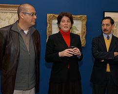 Ramiro Martinez, Adriana Rosenberg y Juan Carlos Pereda
