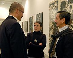 Ramiro Martínez, Cecilia Rabossi y Juan Carlos Pereda
