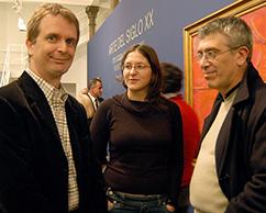 Willy Goldschmidt, Lucrecia Palacios y Alejandro De Elizarbe