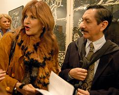 Corinne Sacca de Abadi y Juan Carlos Pereda