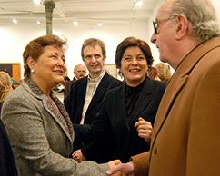 Emb. de México en Argentina, Willy Goldschmidt, Adriana y José Rosenberg