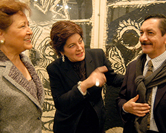 Emb. de Mexico en Argentina, Adriana Rosenberg, Juan Carlos Pereda